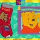 What's a Bear to Wear? Winnie the Pooh Bear book socks