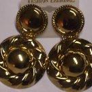 Gold toned dangling Fashion Earrings