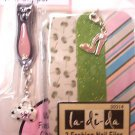 Nail Clippers and Files with Purse and shoe Charms