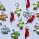 Lot of 40 Bird Charms animals cardinals