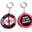 "High Roller Gamblers lucky Keychain slots poker chip ""Show Me the Money"""