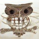 Silver Owl Bracelet Cuff