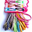 Mixed Pack Ponytail holders and Barrettes assorted