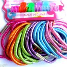 Mixed Pack Ponytail holders and mini Jaw clips assorted