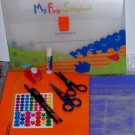 My first Scrapbook kit for junior scrapper