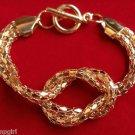 Gold Knot Mesh Bracelet