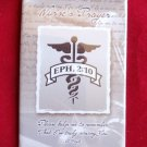 """NURSE'S PRAYER"" CELLULOID MAGNET"