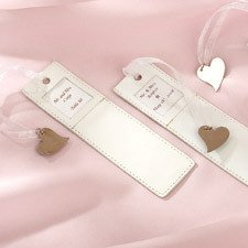 Wedding Favors 18 Engraveable Bookmark Kit Wilton