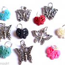 Lot 40 Butterfly Charms