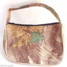 Childs brown green leaf fall handbag Purse