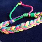 Classic Sailor Knots Friendship BRACELET adjustable Rainbow