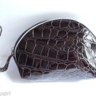 Black Snake Skin coin Purse pouch vinal
