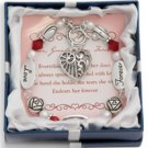 Love Grandmother Forever Charm Bracelet Expression Poem