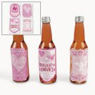6 pack Love Potion Drink Labels