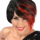 Rhiana Wig with Red Highlights