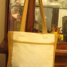 Authentic coach  beige tote bag handbag purse