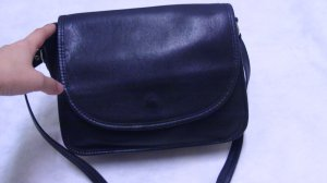 Zippi  handcrafted black cross body messenger leather bag