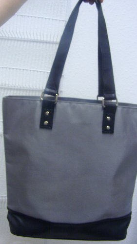 Calvin Klein large Tote cosmetic  handbag  bag purse FREE ship