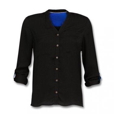 Satin blouse Shirt Top Tunic