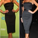 Celebrity Dress Victoria Beckham, Black, Custom Order