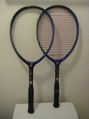 2 Prince Mono Tennis Racquet Excellent Condition Collectors Wanted