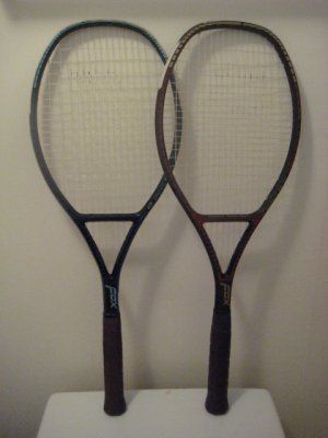 Fox Graphite WB-215 Red/Blue Collector Tennis Racquets