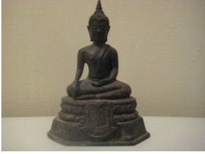 Beautiful Antique Brone Thailand Buddha Statue