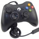 New Black USB Wired Xbox 360 Controller Joypad Joystick For Xbox 360