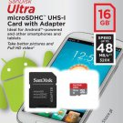 16GB SanDisk Ultra 320x 48MB/s Class 10 Micro SD SDHC Memory Card