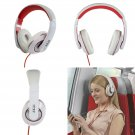 Akai A58019W DJ Style Over Ear Heaphones in White - Brand NEW