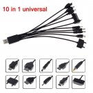 10 IN 1 USB UNIVERSAL MULTI CHARGER CABLE ADAPTER for MOBILE PHONE