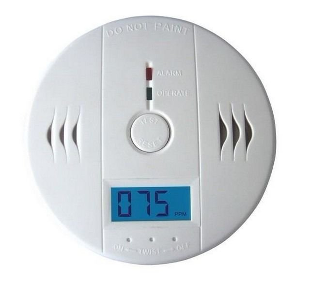 LCD CO Carbon Monoxide Detector Poisoning Gas Warning Alarm Sensor Monitor