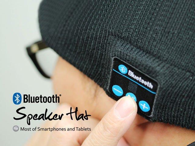 Warm Soft Beanie Wireless Bluetooth Hat Cap Headset Headphone Speaker Mic