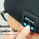 Warm Soft Beanie Wireless Bluetooth Hat Cap Headset Headphone Speaker Mic
