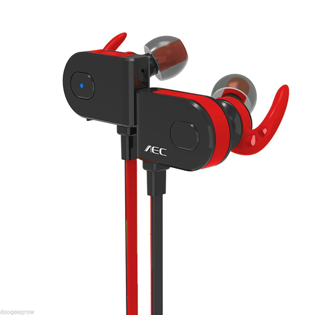 AEC BQ658 Sports Magnetic Adsorption Non-slip HD HIFI Bluetooth Headset Earphone
