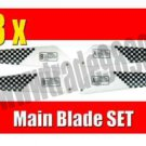 Main Blade for mini Vmax Agilely Glider Metal Helicopter