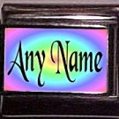 Hot New Design, Any Name Charm, Custom 9mm Italian Photo Charm