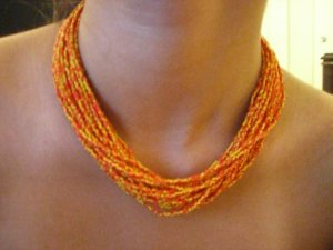 Hand Loomed Necklace Collection 4