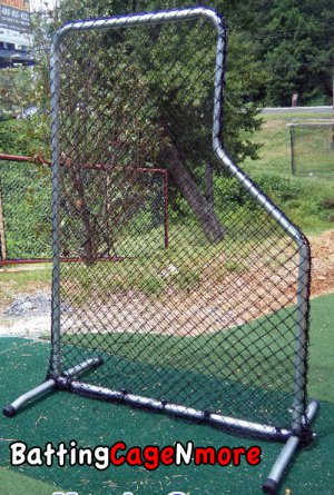 Baseball Protective L screen Batting cage Practice screen PRO model
