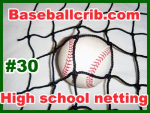 Batting cage 10x10x50 #30 High school adult indoor outdoor baseball softball netting