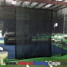 Batting cage net saver 6 ft. by 8 ft. mesh protect the net behind batters