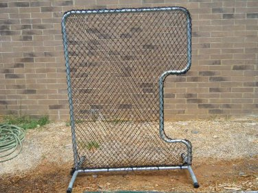 Softball pitchers protective screen pro model 5 x 6.5 ft. Pillow case net