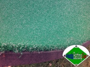 Golf mat 4 ft. x 4 ft. Professional turf and padding driving hitting