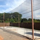 Batting cage net 12x14x40 #21 Backyard indoor outdoor baseball softball netting