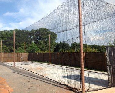 Batting cage net 12x14x45 #21 Backyard indoor outdoor baseball softball netting