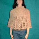 KNC Elegant Hand Knit & Crochet Poncho