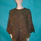 KNC Coming Home Hand Crochet Poncho Prarie Sz S-M
