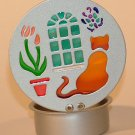 KNC  Cat Silhouette Small Tealight Holder