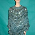 KNC Coming Home Martha Stewart Poncho - Windsor Sz S-M