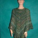 KNC Coming Home Hand Crochet Poncho Regency Sz 2X-3X